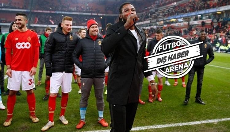 Luyindama'dan Anderlecht için küfürlü tezahürat