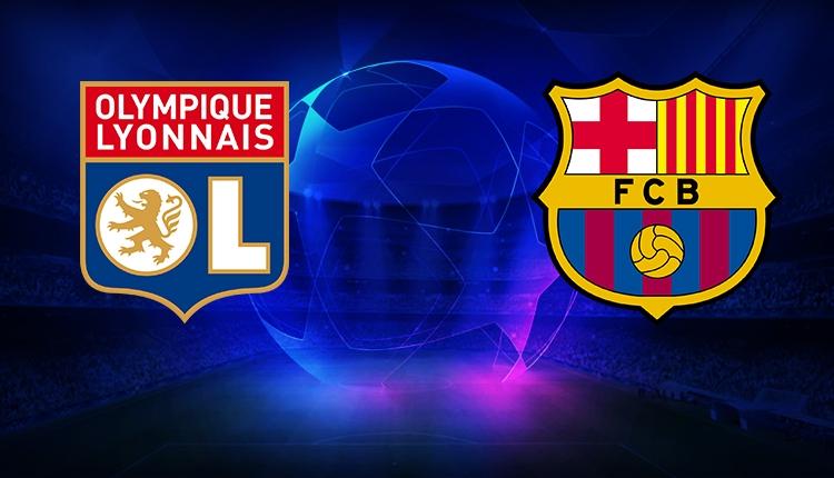 Lyon Barcelona maçı canlı ve şifresiz izle (Lyon Barcelona beIN Sports)