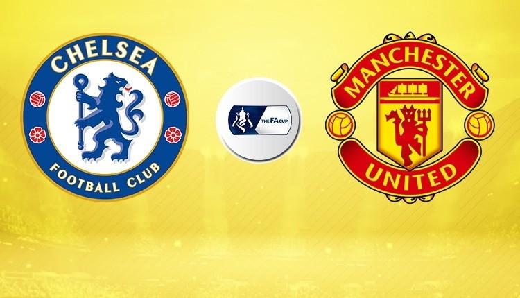 Manchester United - Chelsea canlı, şifresiz izle