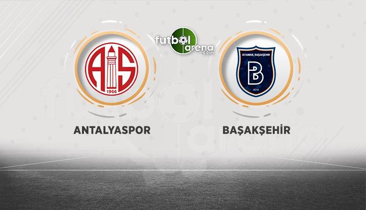 Medipol Başakşehir, Antalyaspor deplasmanına konuk oluyor