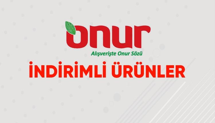 Onur Market İstanbul Trakya bölgesi indirim ve kampanyaları (Onur Market insert 4-13 Şubat 2019)