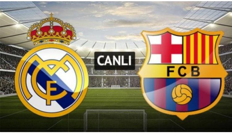 Real Madrid Barcelona canlı izle (Real Barça şifresiz izle)