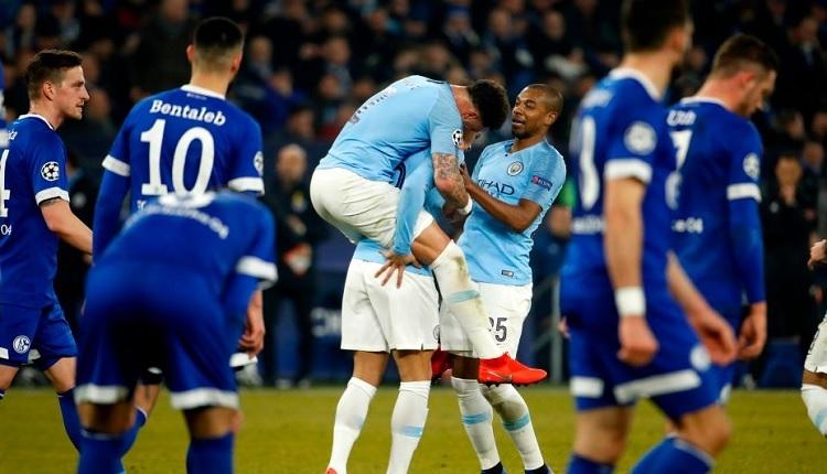 Schalke 2-3 Manchester City maç özeti ve golleri İZLE