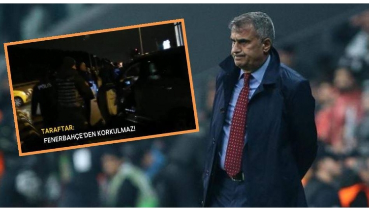 Şenol Güneş ile taraftar tartıştı: 'Fenerbahçe'den korkulmaz!'