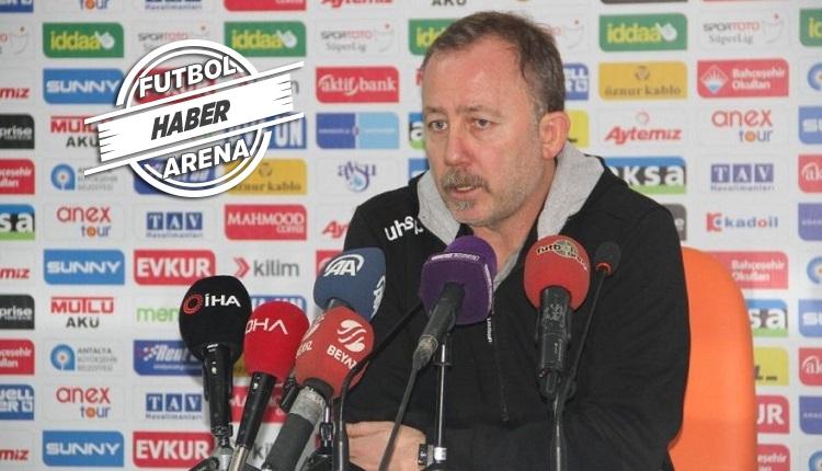 Sergen Yalçın'a Beşiktaş'ı sordular! Açıklama