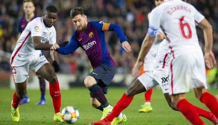 Sevilla 2-4 Barcelona maç özeti ve golleri (İZLE)