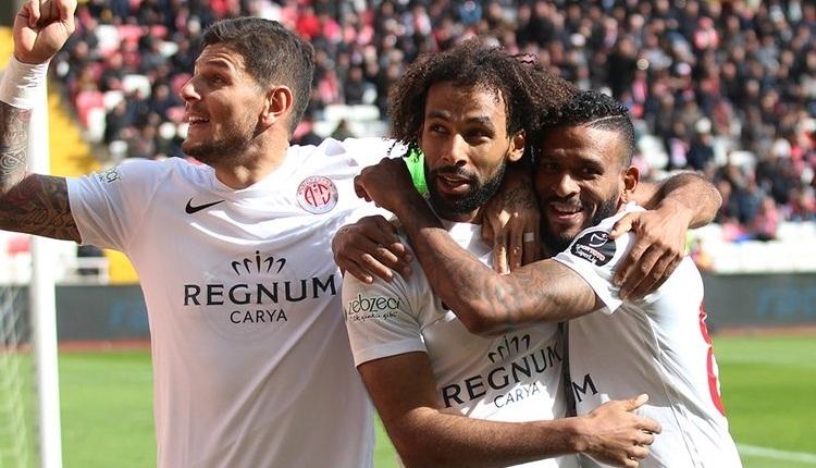 Sivasspor 1-2 Antalyaspor maç özeti ve golleri izle