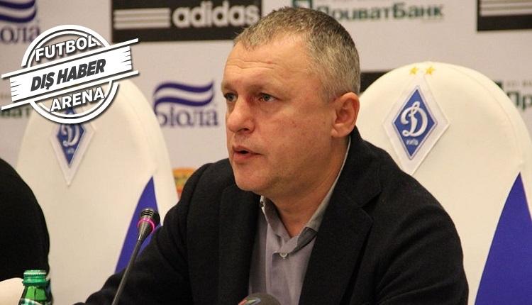 Dinamo Kiev Başkanı: 'Vida'yı çok seviyorum ama istediği paraya takım kurulur'