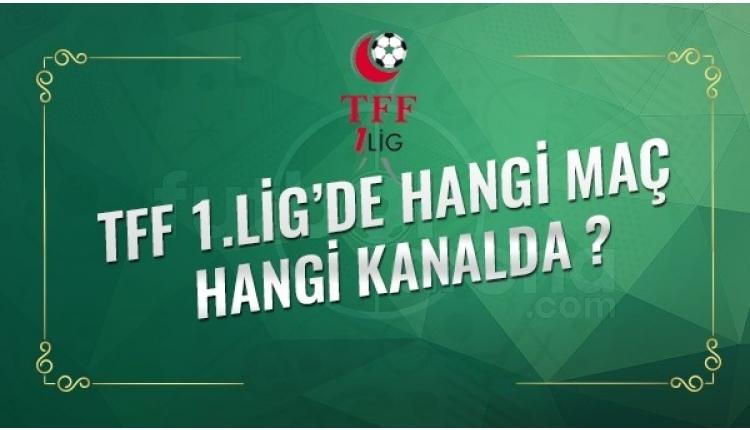 TFF 1. Lig maçları, TFF 1. Lig izle, 1. Lig şifresiz canlı izle (1. Lig canlı skor maç sonucu)