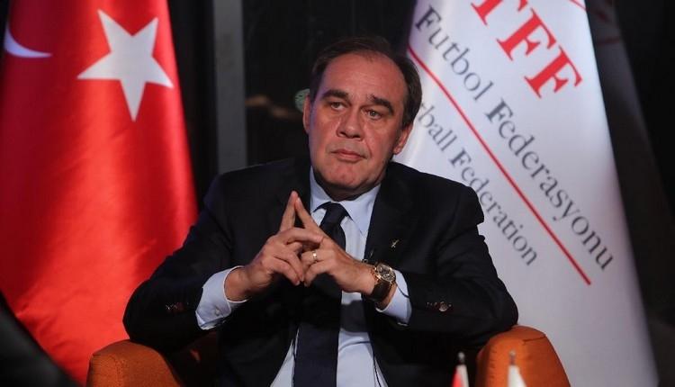 TFF Başkanı Yıldırım Demirören istifa etti
