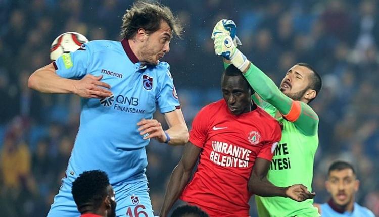 Trabzonspor 0-0 Ümraniyespor maç özeti İZLE