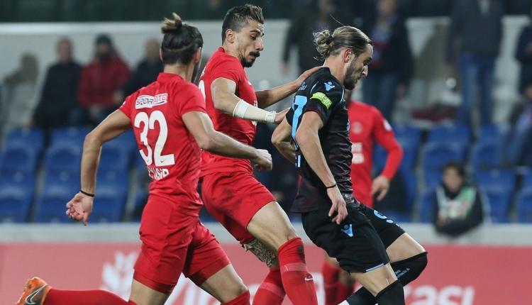 Trabzonspor kupada Ümraniyespor'a elendi! (İZLE)