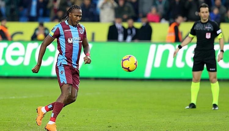Trabzonspor'da Hugo Rodallega ayrılık tarihini açıkladı