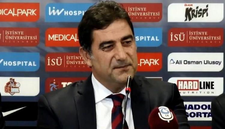 Trabzonspor'un Göztepe maçı ilk 11'i açıklandı