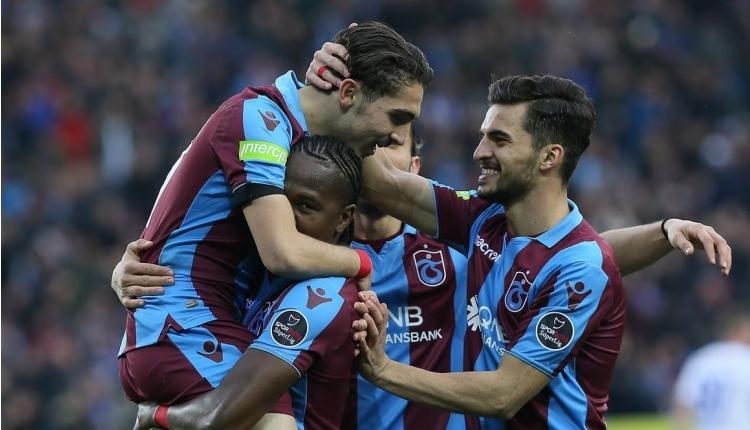 Trabzonspor'un Galatasaray maçı kadrosu açıklandı
