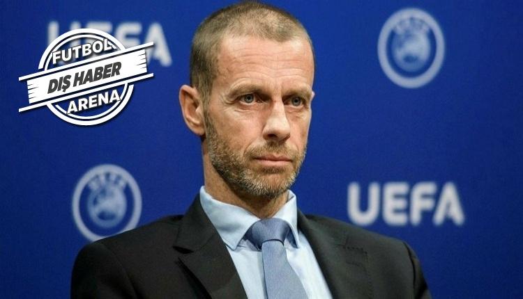 UEFA Başkanı Ceferin'den FFP kuralı müjdesi