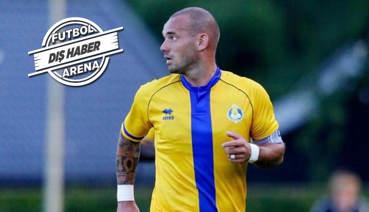 Wesley Sneijder'e sakatlık şoku!
