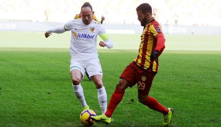 Yeni Malatyaspor 1-1 Kayserispor maç özeti ve golleri İZLE