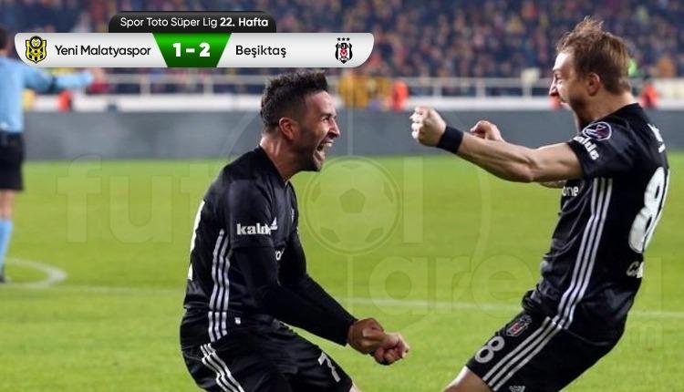 Yeni Malatyaspor 1-2 Beşiktaş maç özeti ve golleri izle
