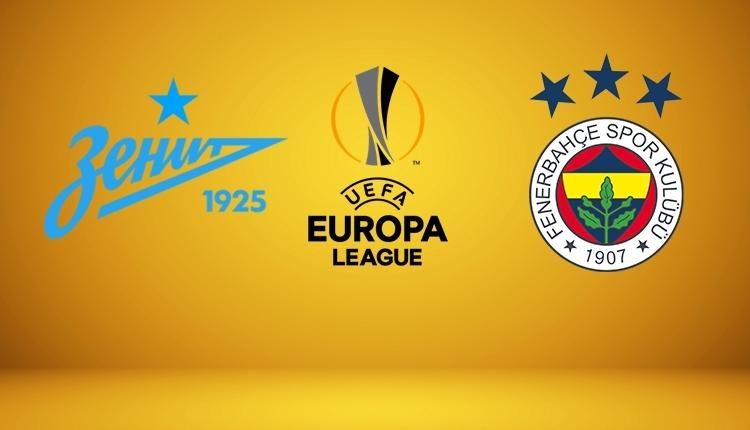 Zenit - Fenerbahçe canlı izle, Zenit - Fenerbahçe şifresiz izle (Zenit - Fenerbahçe beIN Sports canlı ve şifresiz İZLE)