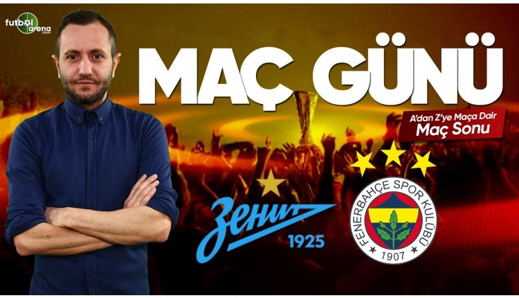 Zenit - Fenerbahçe maç özeti ve golleri | Canlı yayın