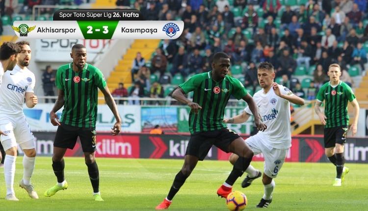 Akhisarspor 2-3 Kasımpaşa maç özeti ve golleri (İZLE)