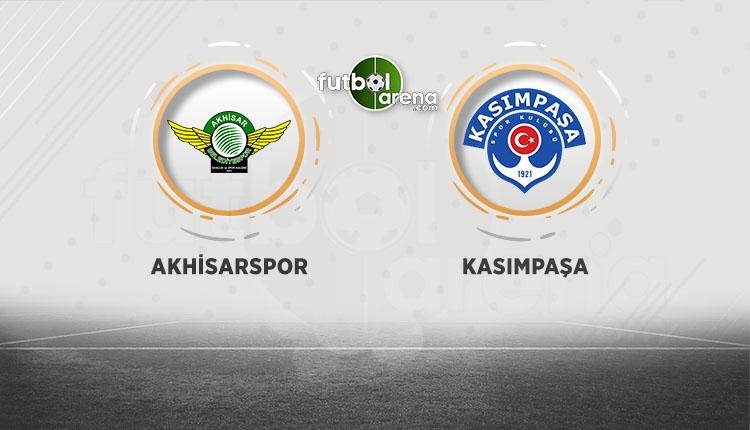 Akhisarspor - Kasımpaşa maçı canlı, şifresi izle (BeIN Sports 2 canlı izle)