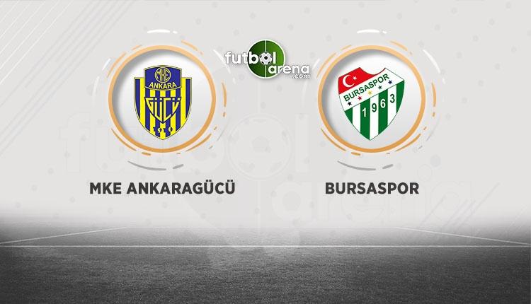 Ankaragücü Bursaspor canlı ve şifresiz izle (Ankaragücü Bursaspor beIN Sports İZLE)