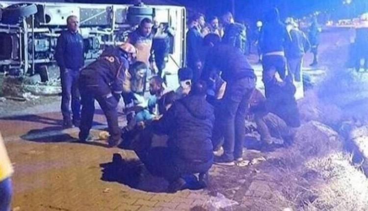 Ankaragücü'nün acı kaybı! Taraftar otobüsü kaza yaptı