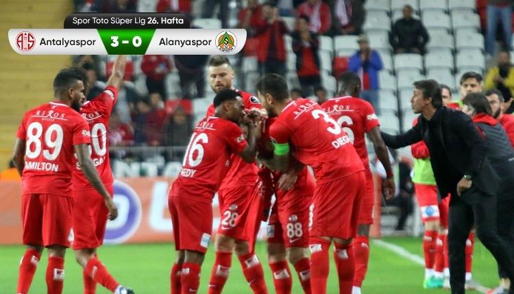 Antalyaspor 3-0 Aytemiz Alanyaspor maç özeti ve golleri (İZLE)