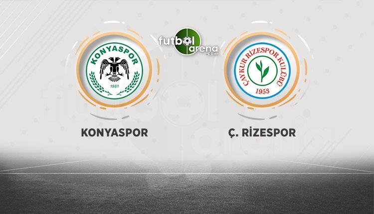Atiker Konyaspor - Çaykur Rizespor maçı canlı izle (BeIN Sports canlı izle)