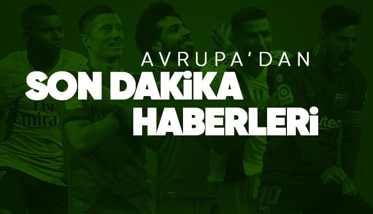 Avrupa futbolundan son dakika haberler (17 Mart Pazar)