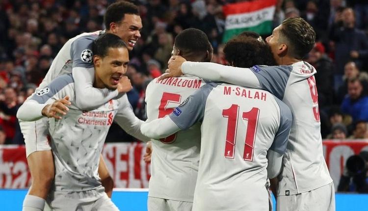 Bayern Münih 1-3 Liverpool maç özeti ve golleri izle