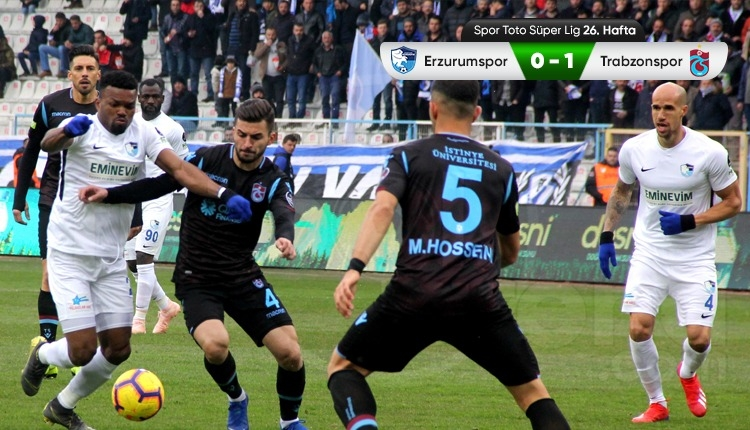 BB Erzurumspor 0-1 Trabzonspor maç özeti ve golü (İZLE)