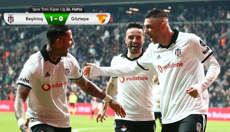 Beşiktaş 1-0 Göztepe maç özeti ve golü (İZLE)
