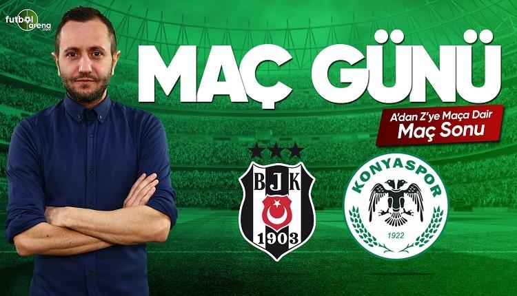 Beşiktaş Konyaspor maç özeti ve golleri | FutbolArena canlı