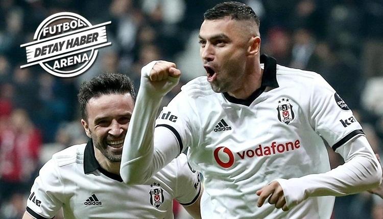Burak Yılmaz, Beşiktaş'ta son 5 sezonun as golcülerine rakip oldu