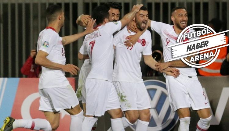 Burak Yılmaz'ın Milli takıma dönüşü (Arnavutluk maçındaki golü)