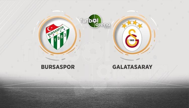 Bursaspor - Galatasaray canlı izle, Bursaspor - Galatasaray şifresiz İZLE (Bursaspor - Galatasaray beIN Sports canlı ve şifresiz İZLE)