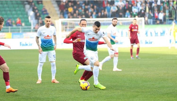 Çaykur Rizespor 3-0 Kayserispor maç özeti ve golleri (İZLE)