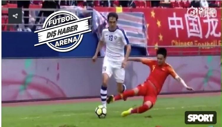 Çin'i sallayan olay! Rakibinin ayağını kırdı kulübü sözleşmesini dondurdu