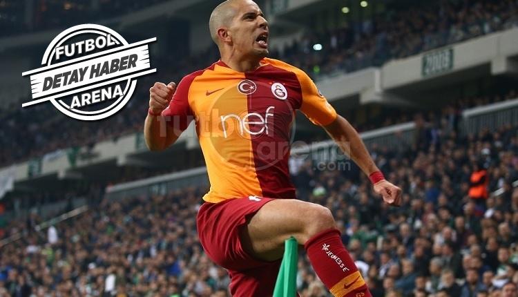 Feghouli'den Galatasaray formasıyla kariyer rekoru