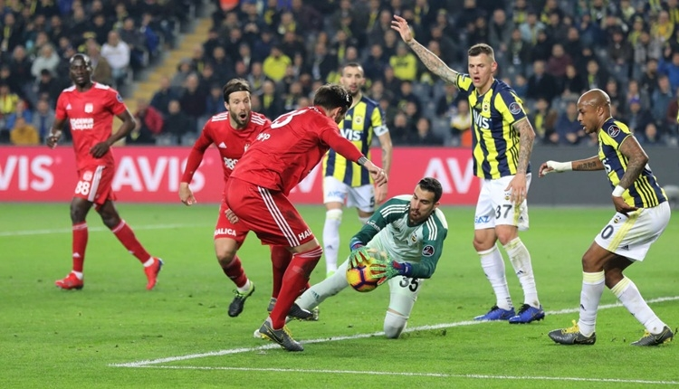 Fenerbahçe, Sivasspor maçında 5 yıl sonra ilki yaşadı