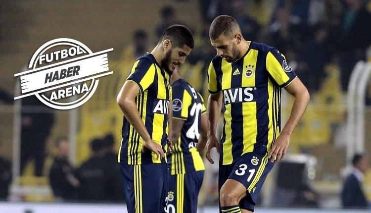 Fenerbahçe'de Slimani ve Benzia kadro dışı mı bırakıldı?