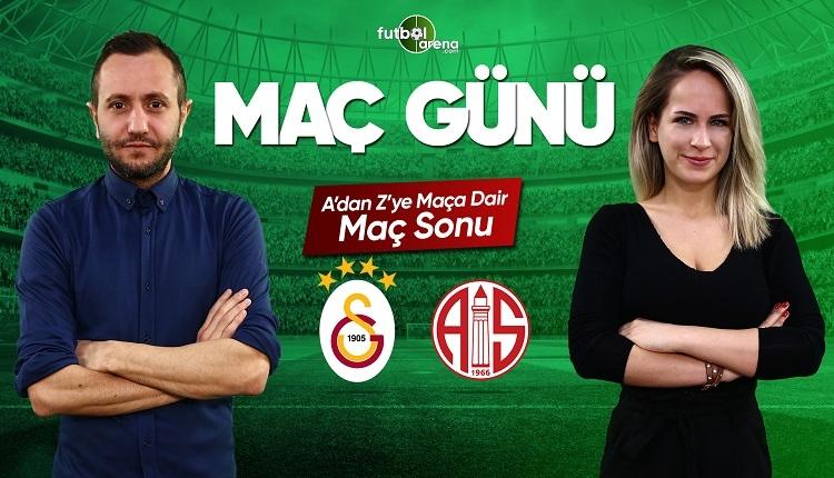 Galatasaray - Antalyaspor özeti ve golleri   FutbolArena canlı yayın
