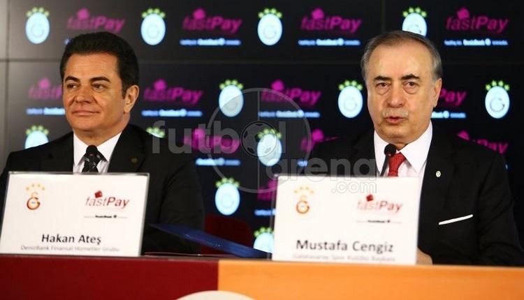 Galatasaray, Denizbank sponsorluk anlaşması imzaladı