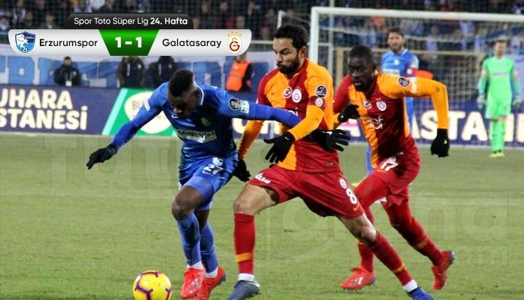 Erzurumspor - Galatasaray maçı özeti (İZLE)