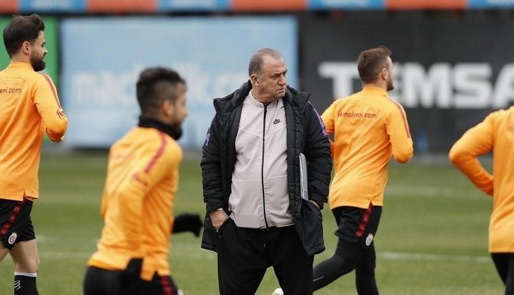 Galatasaray'da Fatih Terim'in üstünü çizdiği 2 futbolcu