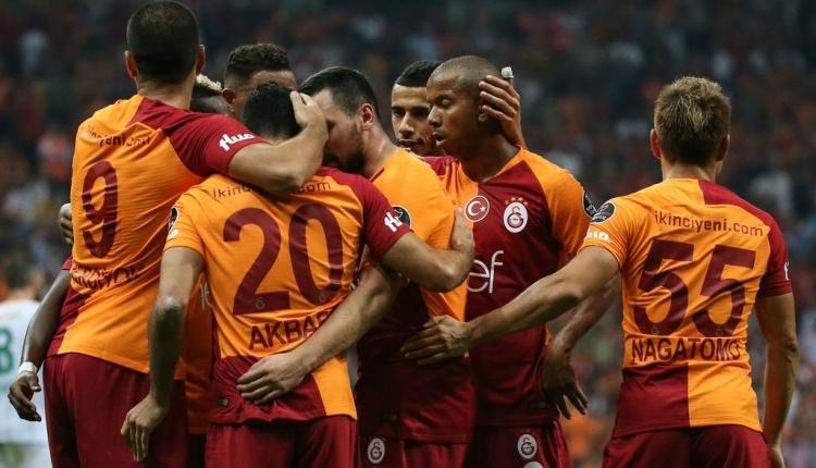 Galatasaray'ın Erzurumspor maçı kadrosu açıklandı