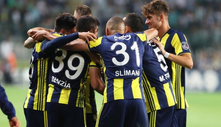İşte Fenerbahçe'de gönderilecek futbolcular listesi